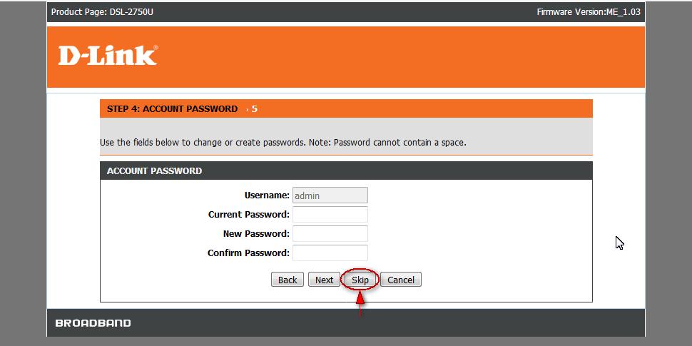 تغییر رمز عبور ورود به تنظیمات